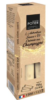 19 etuis champagne