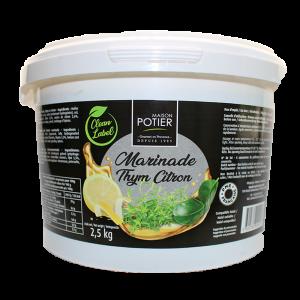 Marinade Thym Citron